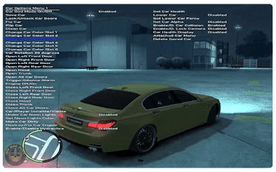 Grand Theft Auto IV Cheat Menu Trainer Download