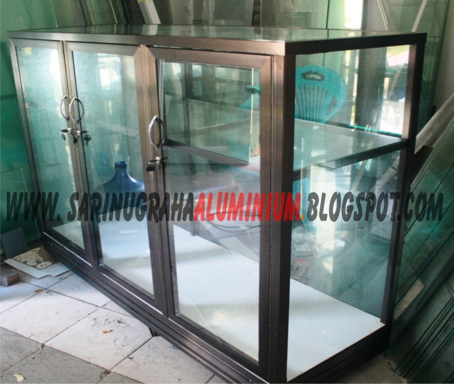 Sari Nugraha AluminiumKaca Construction desain etalase