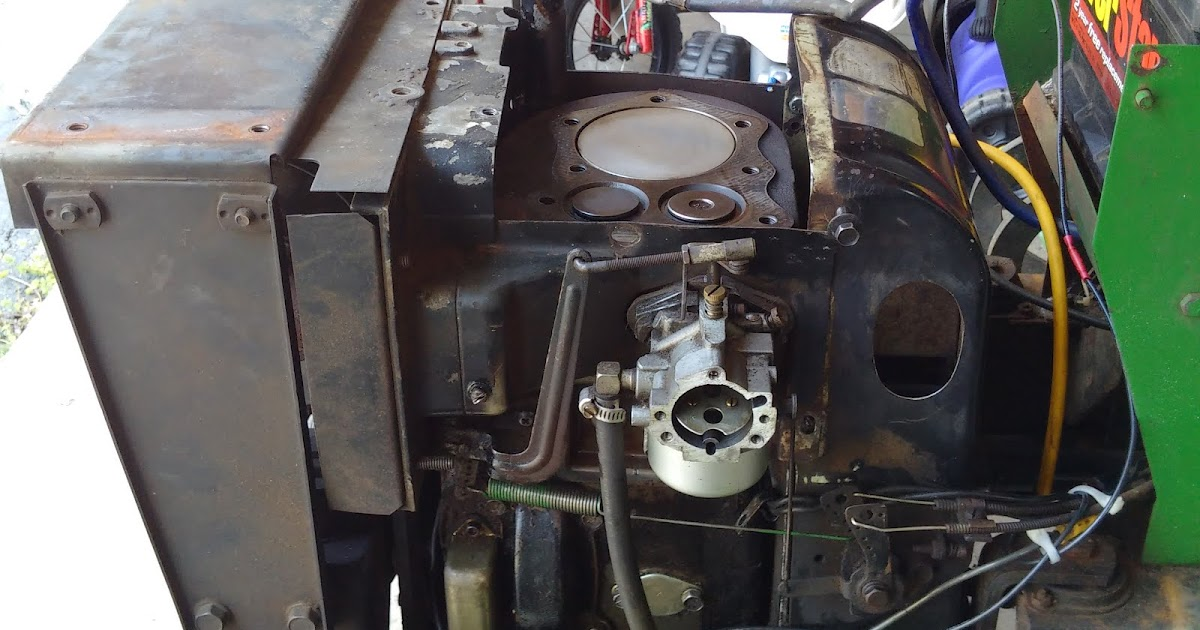 Adventures with a Deere: The Tear Down Part 1 - Removing the