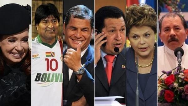 Resultado de imagen para FOTO CONJUNTA DE MANDATARIOS SOCIALISTAS DEL SIGLO XXI