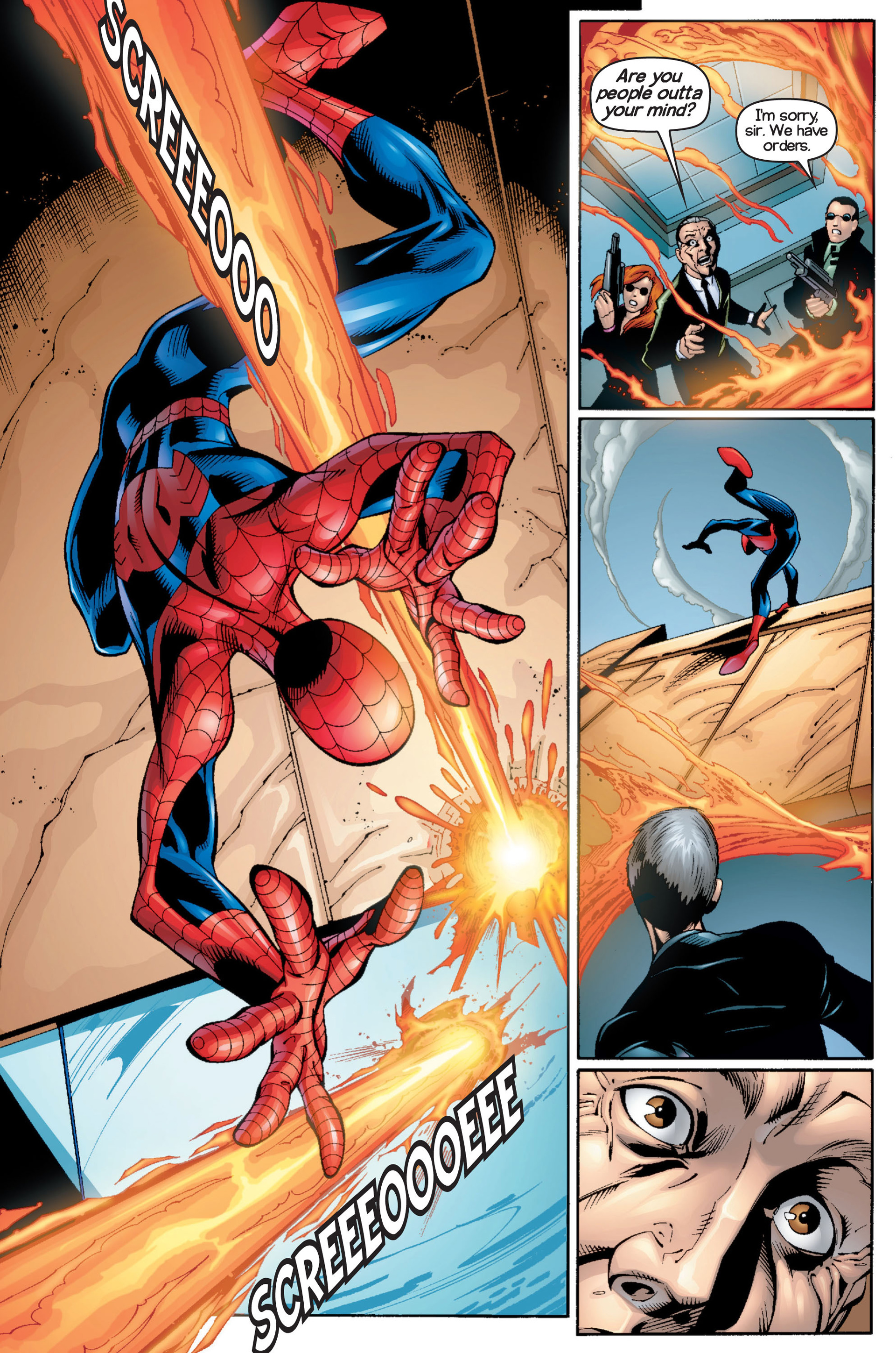Read online Ultimate Spider-Man (2000) comic -  Issue #16 - 18