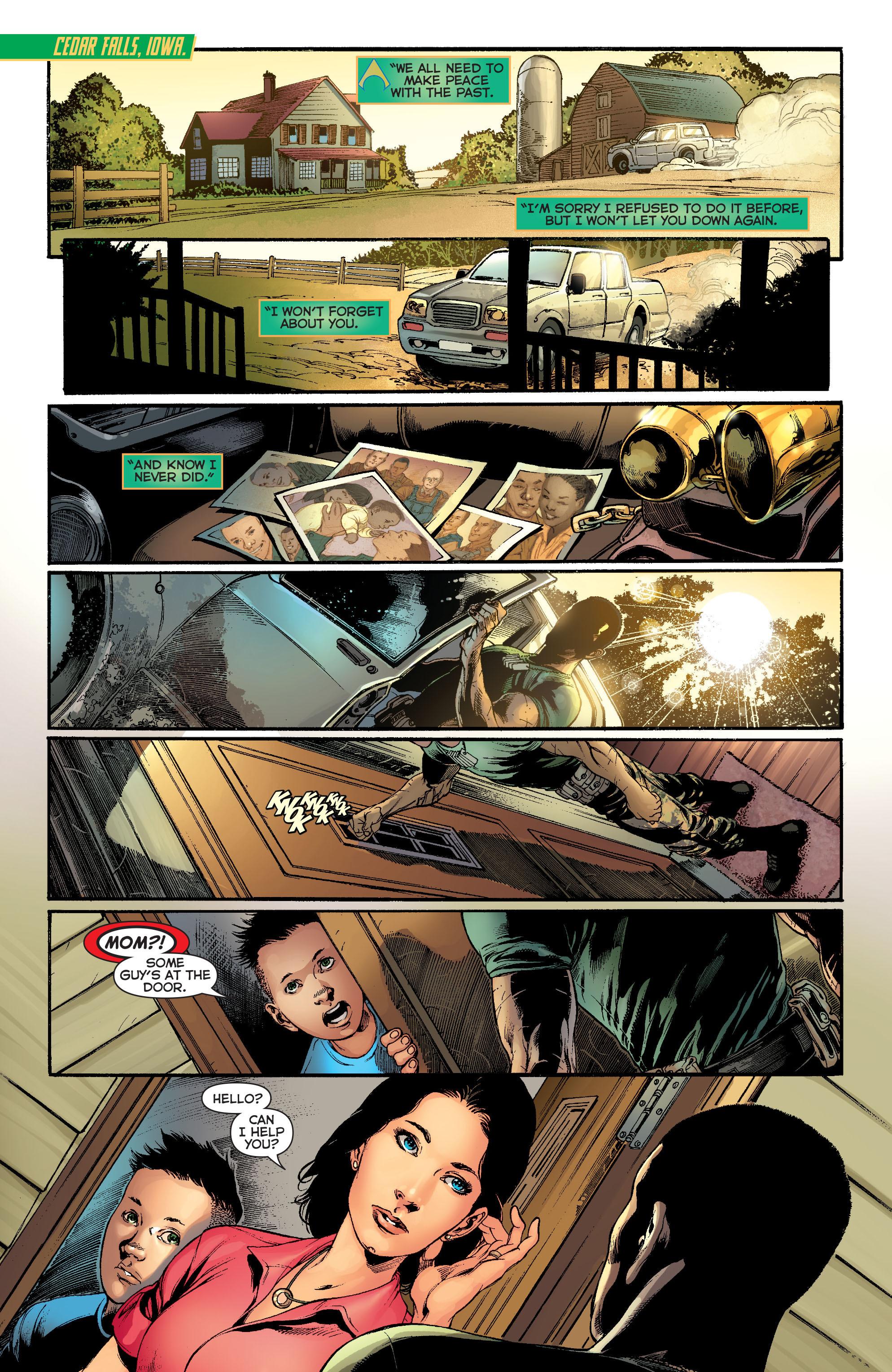 Read online Aquaman (2011) comic -  Issue #13 - 19