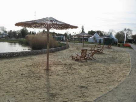 Blumengärten Hirschstetten / Strand am Seerosenteich