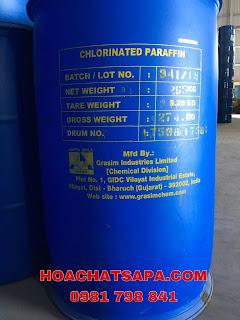 Ngọc Yến SAPA CHẤT HÓA DẺO CHLORINATED PARAFIN S54 (Parafin chlor hóa)