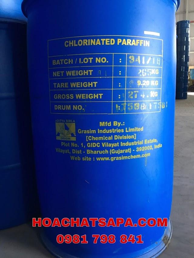 CHẤT HÓA DẺO CHLORINATED PARAFIN S54 (Parafin chlor hóa)