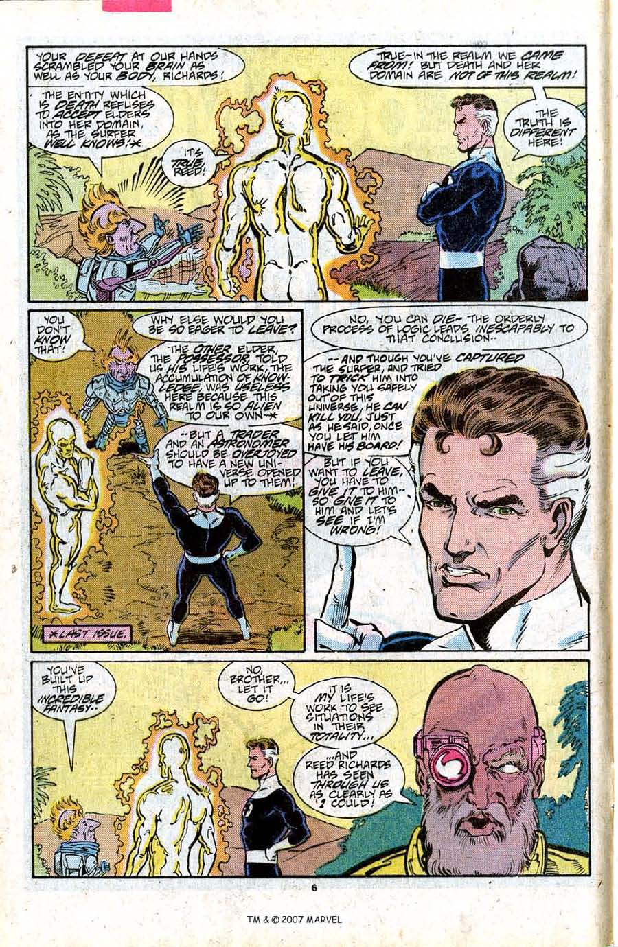 Read online Silver Surfer (1987) comic -  Issue #16 - 8