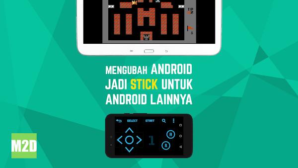 Mengubah Android Menjadi Joystick untuk Android Lainnya