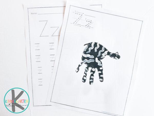 Z is for Zebra Handart Project