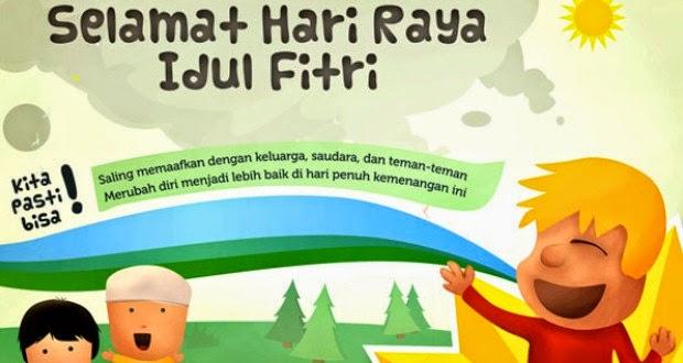 Kumpulan SMS Ucapan Selamat Hari Raya Idul Fitri 1438 H