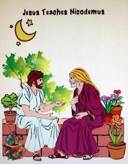 Bible Fun For Kids Nicodemus
