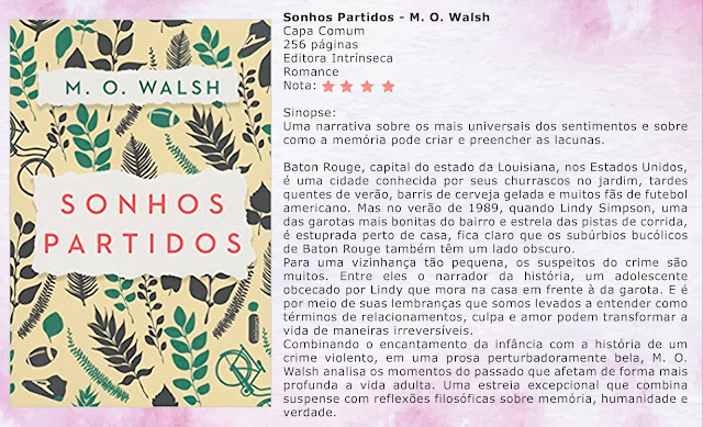 Sonhos Partidos - M. O. Walsh