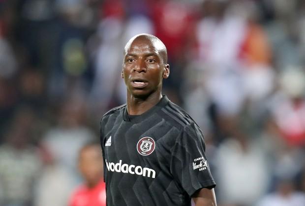 Orlando Pirates midfielder Musa Nyatama
