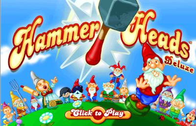 錘錘小矮人(Hammer Heads),類似打地鼠的好玩遊戲!