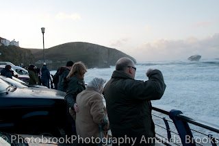 Storm watchers Cornwall