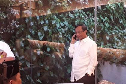 Jokowi Tak Jawab Pertanyaan Mengapa Mahfud Md Batal Cawapres
