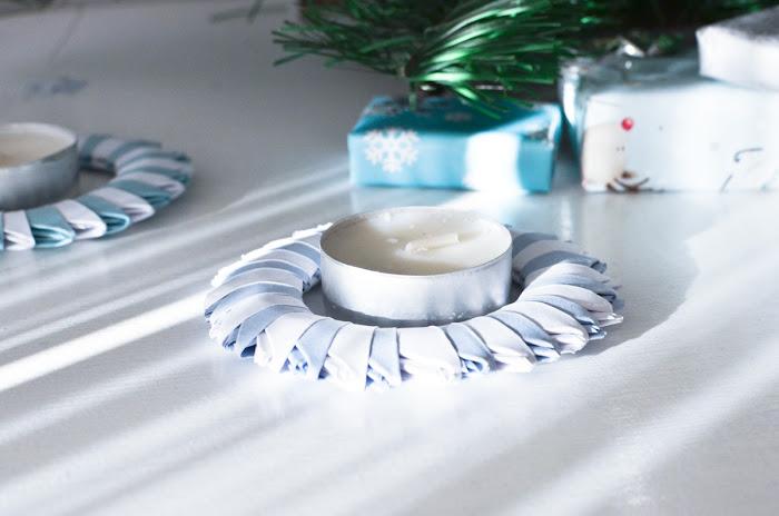 błękitno srebrne świąteczne dekoracje