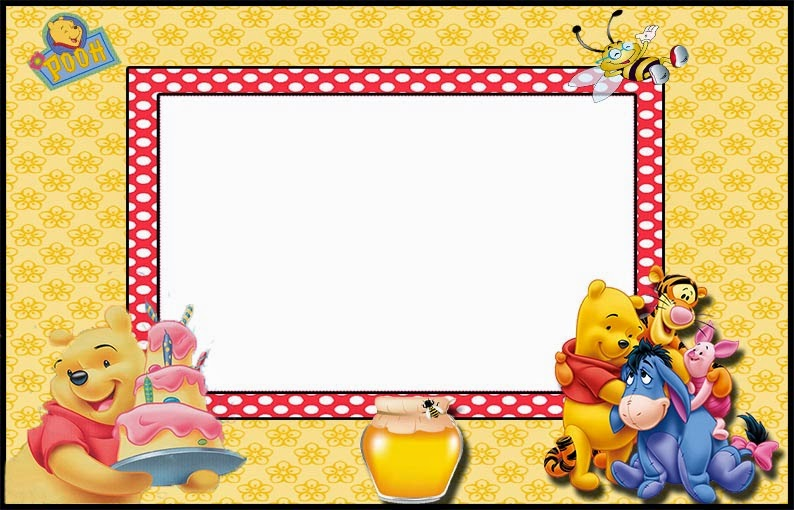 Winnie The Pooh Party Free Printable Invitations Oh My Fiesta