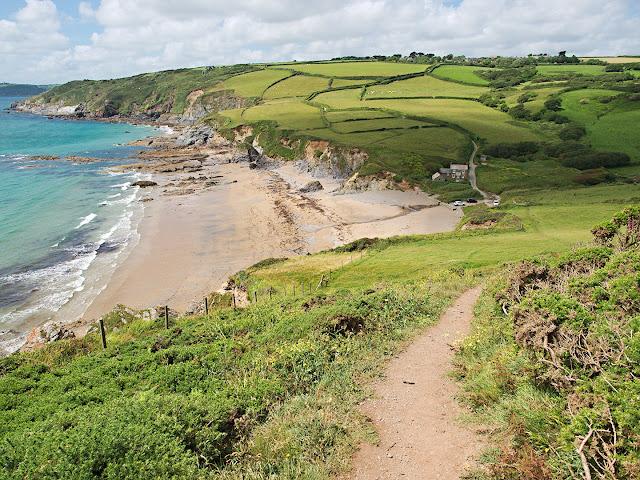 Hemmick Beach Cornwall beach dodman