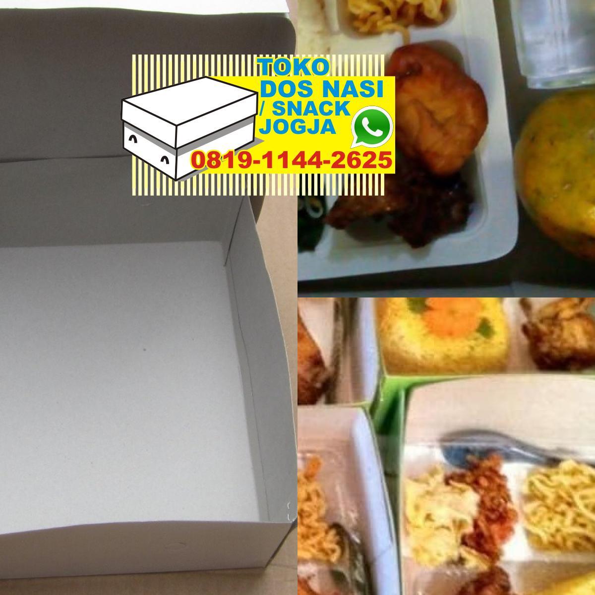 Snack Kotak Jogja - O8I9 II44 2625 (WA) cetak kotak nasi ...