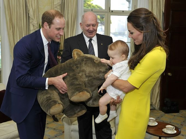 New picture of Prince George released to mark his second birthday  A new picture of Prince George has been released to mark his second birthday