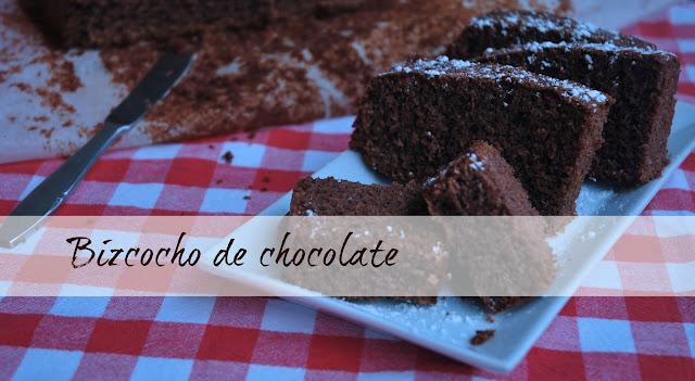 bizcocho chocolate