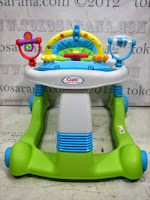 Walk Behind Baby Walker Care CWL501 2 in One Walker - Walk Behind - Green