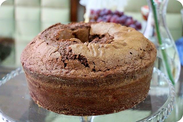 Café da Tarde : Bolo de Chocolate