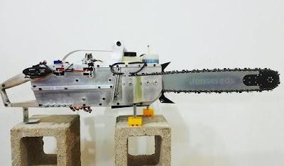 Chainsaw Radial Engine prototype