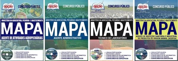 Apostila concurso MAPA 2017