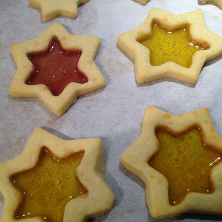 glas-in-lood-koekjes - www.myhappykitchen.nl