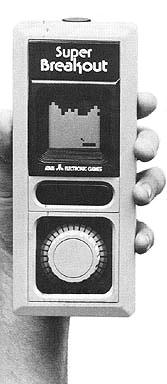 Atari Handheld Super Breakout (1980)
