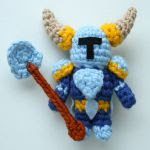 http://www.ravelry.com/patterns/library/shovel-knight-amigurumi