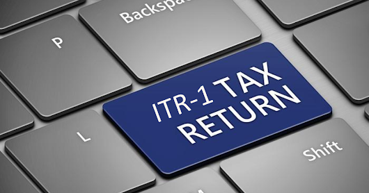 Individual Income Tax Return ITR-1 (SAHAJ) - ActRules