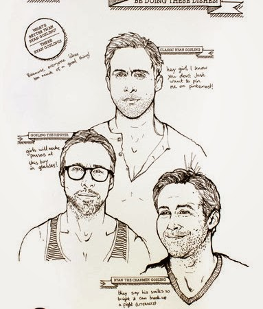 Want A Ryan Gosling Tea Towel? Of Course You Do!  Sweetie Darling Wish List  |  LilliesandLove