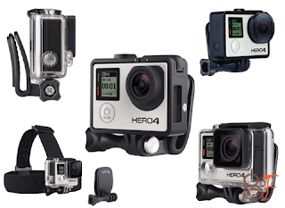 Get Ready For The Adventure With The GoPro Head Strap + QuickClip - All In One Package