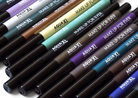 Make Up For Ever Aqua XL Eye Pencils M22 S20 I24 I32 I34 I36 ME42 S50 M60 D62 M16 M26 M30 M40 M92 M10 D12 M14 M80 I90 Review Photos