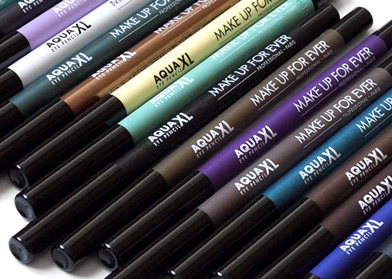 Make Up For Ever Aqua XL Eye Pencils M22 S20 I24 I32 I34 I36 ME42 S50 M60 D62 M16 M26 M30 M40 M92 M10 D12 M14 M80 I90 Review Photos