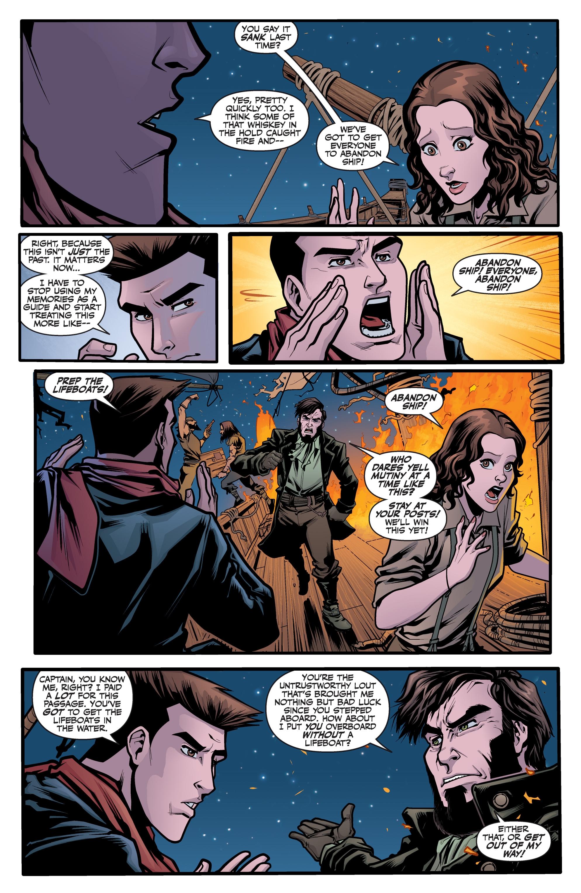 Read online Angel Season 11 comic -  Issue #6 - 19