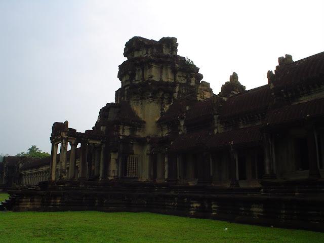 Coucher de soleil à Angkor - Cambodge