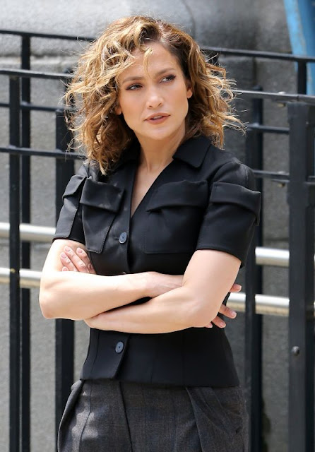 Jennifer Lopez – On the Set of 'Shades of Blue' in NYC
