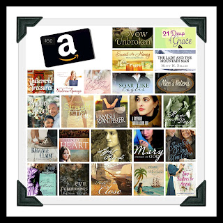 Free books and $50 Amazon card Giveaway 23-29 April