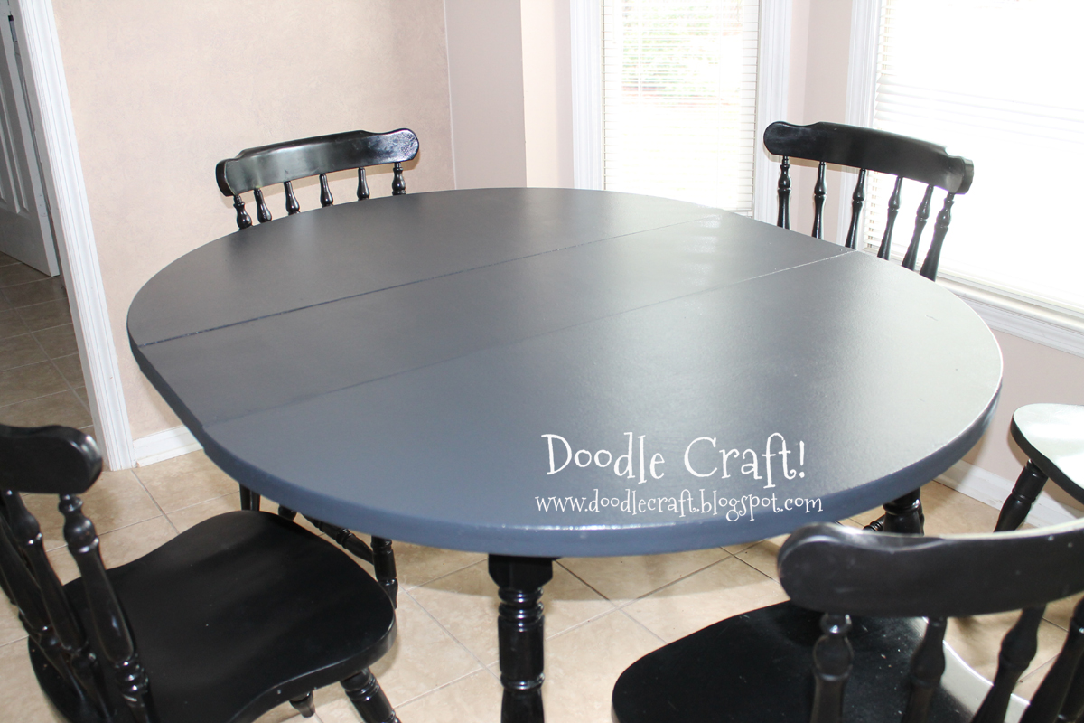 stencil round kitchen table tutorial painting kitchen table new york office supplies