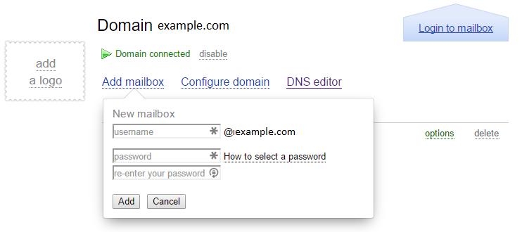 yandex free mail config