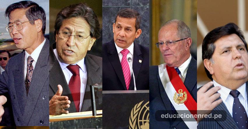 PRESOS, INVESTIGADOS O PRÓFUGOS: Conoce a los últimos 5 polémicos presidentes de Perú