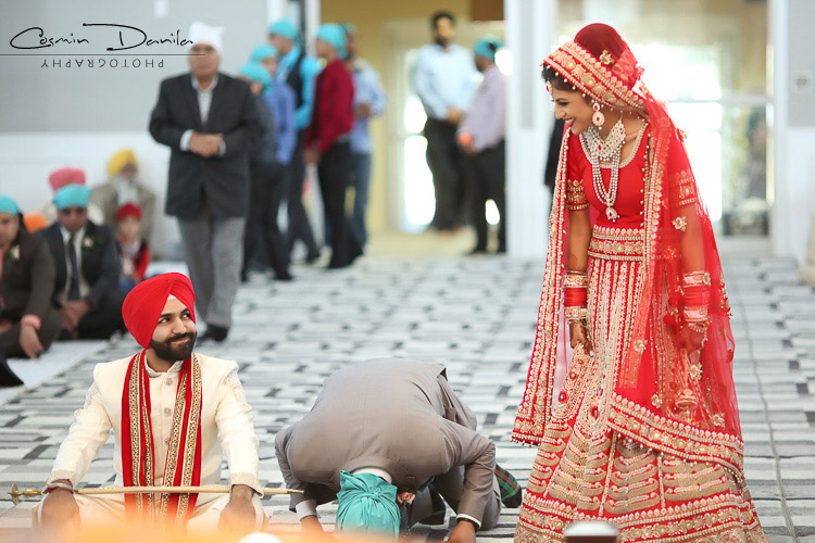 Punjabi Wedding Photography Calgary Sikh Marriage Pictures Canada Indian Photos Dashmesh Culture Centre Gurdwara