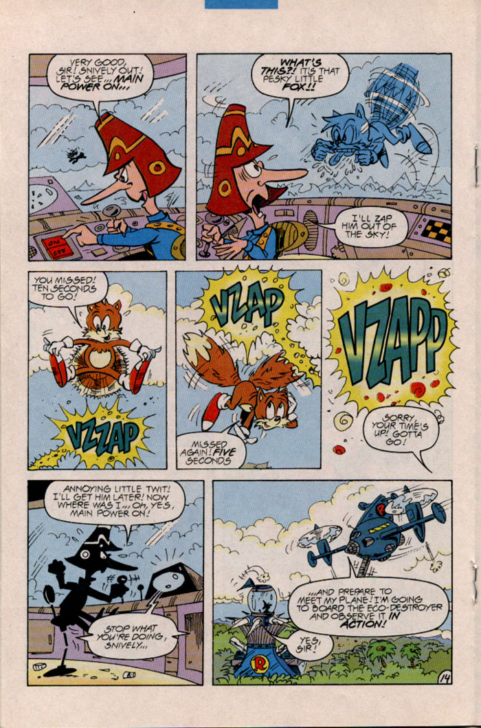 Read online Sonic The Hedgehog comic -  Issue #45 - 15