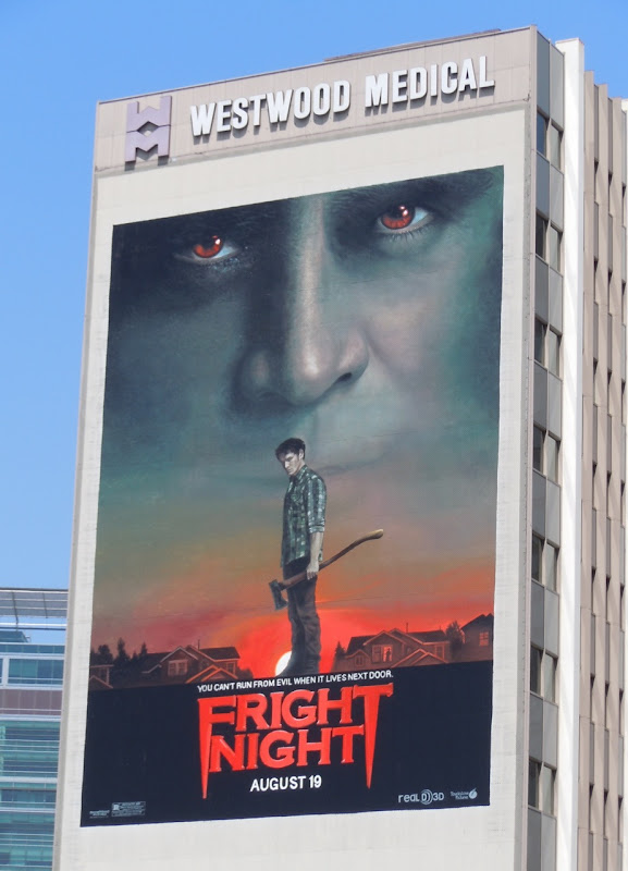 Giant Fright Night remake billboard