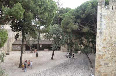 Cortile Castello Sao George