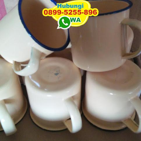 toko Cangkir Enamel Polos Free Cetak Nama reseller 50387