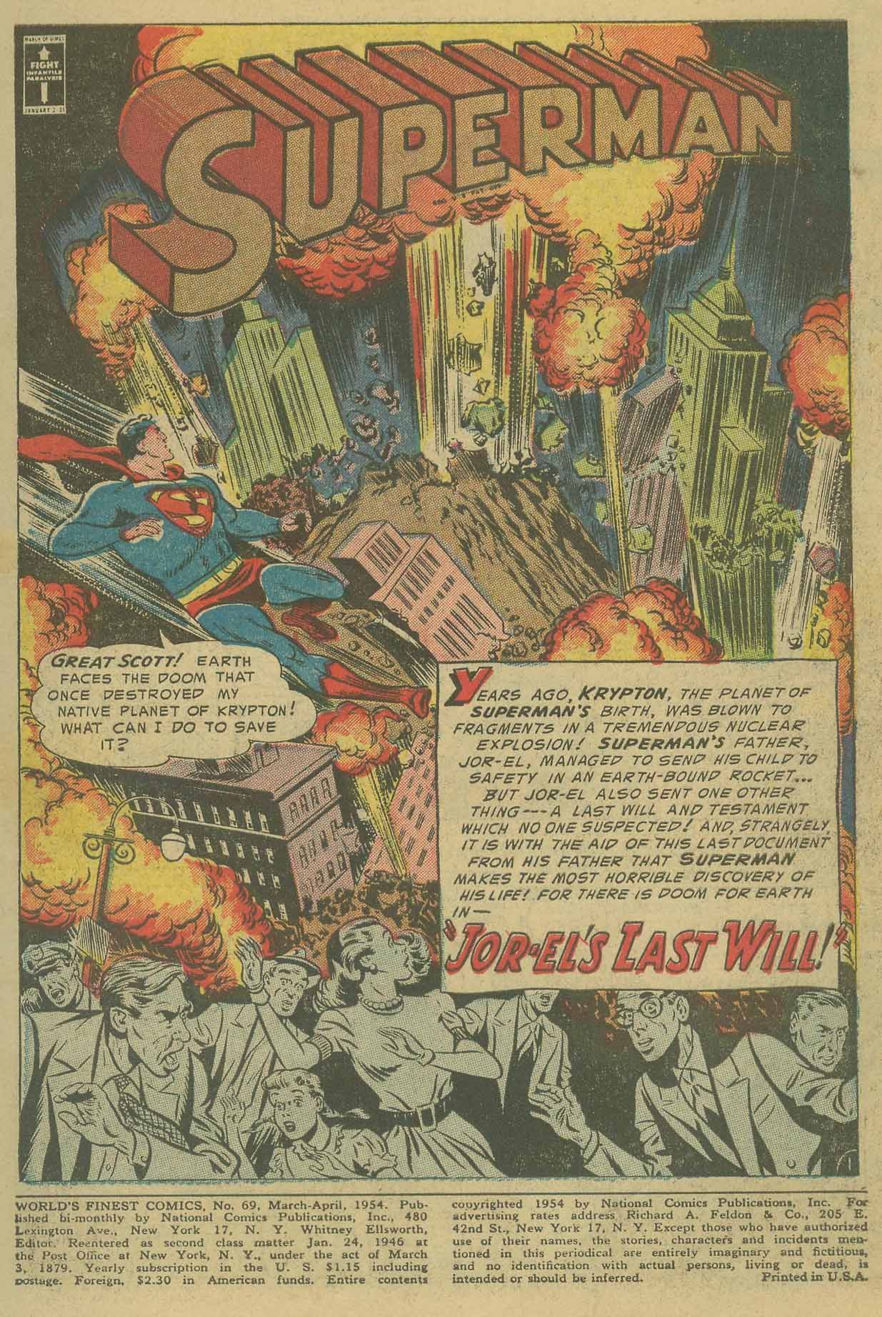 Read online World's Finest Comics comic -  Issue #69 - 3